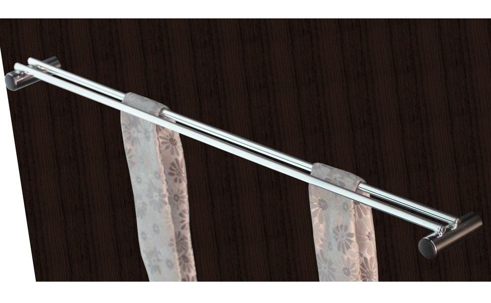 Discreto y practico, también cumple función como corbatero. Su colocation en idónea en el lateral o puerta del armario.