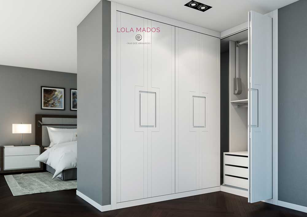 Puertas plegables modernas puertas plegables correderas - Armario puertas plegables ...