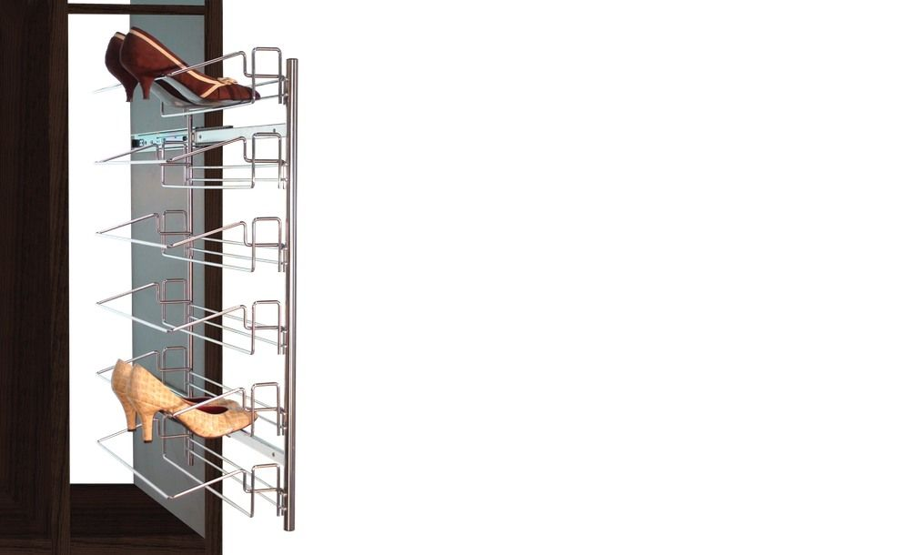 Accesorios para interiores de armarios como zapateros for Zapatero extraible