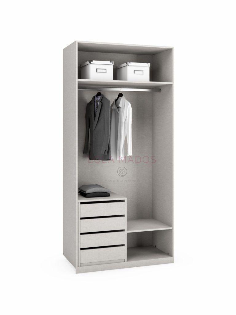 Precio de cajoneras para interiores de armarios lola mados - Cajonera interior armario ...