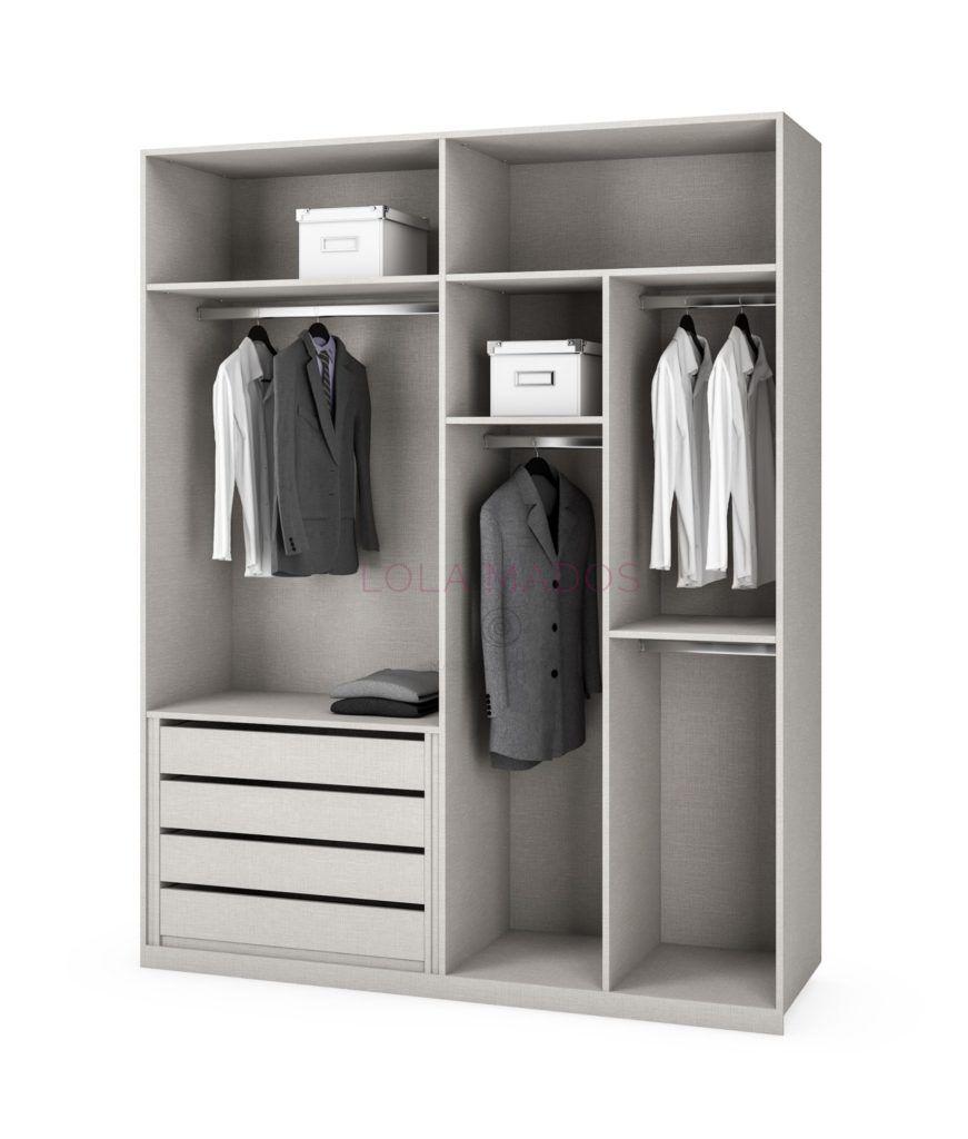 Precio vestir armario empotrado interiores armarios - Vestir armarios por dentro ...