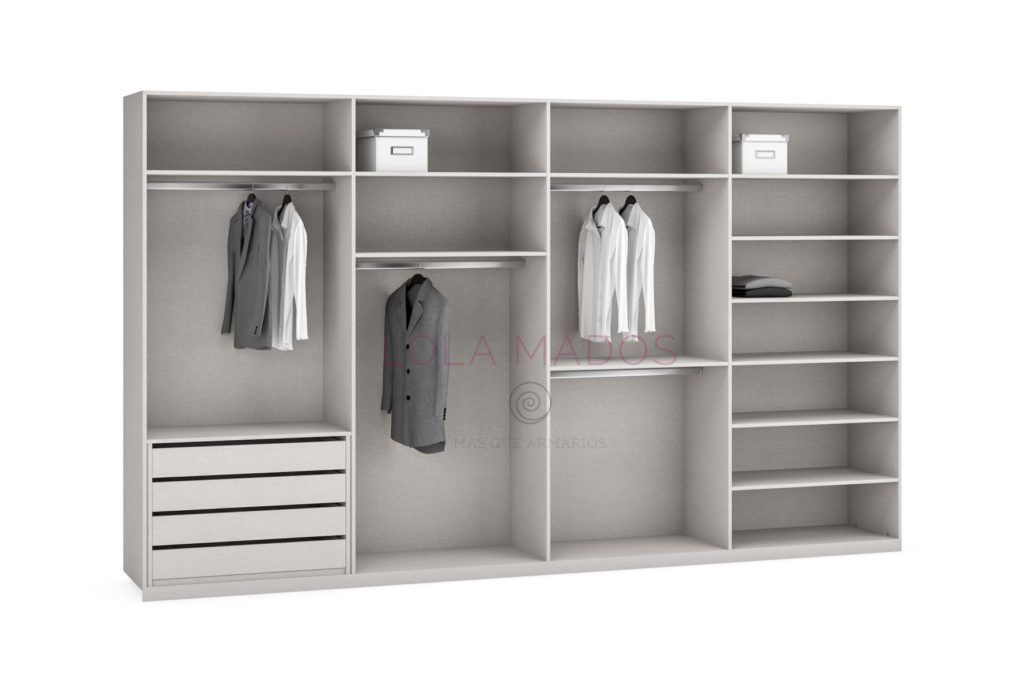 Precio de cajoneras para interiores de armarios | Lola Mados