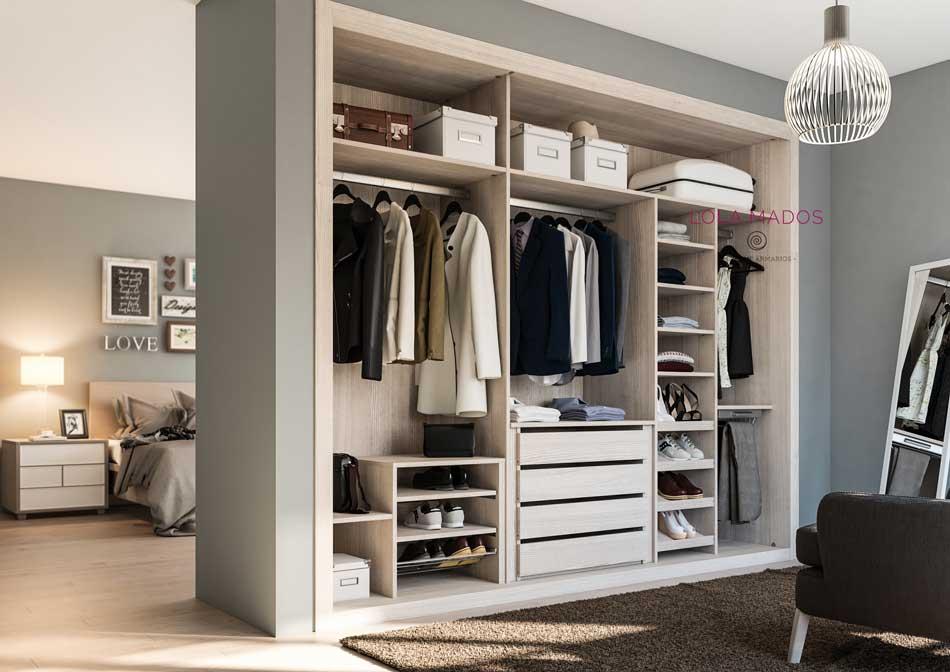 Vestir un armario empotrado trendy fabulous antes y - Vestir un armario ...