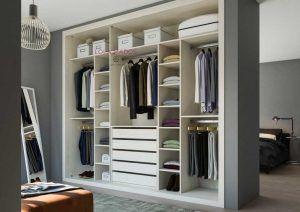 Interior armario empotrado para 3 puertas correderas